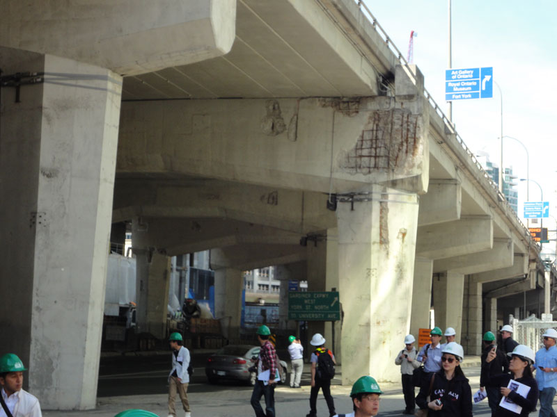 海外高速道路橋梁視察